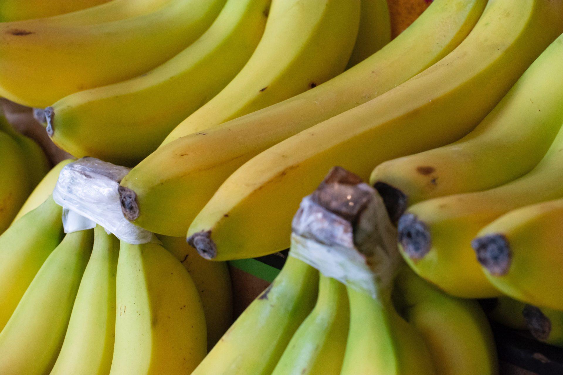 Bananen eignen sich auch super als Beikoststarter.