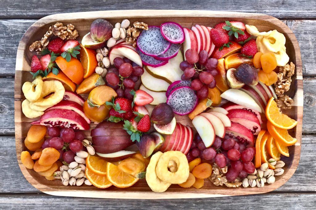BLW: Ein Obstteller