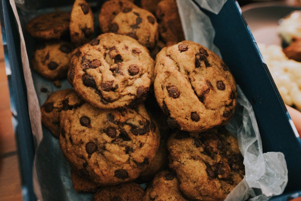 Zuckerfreie Chocolate Chip Cookies