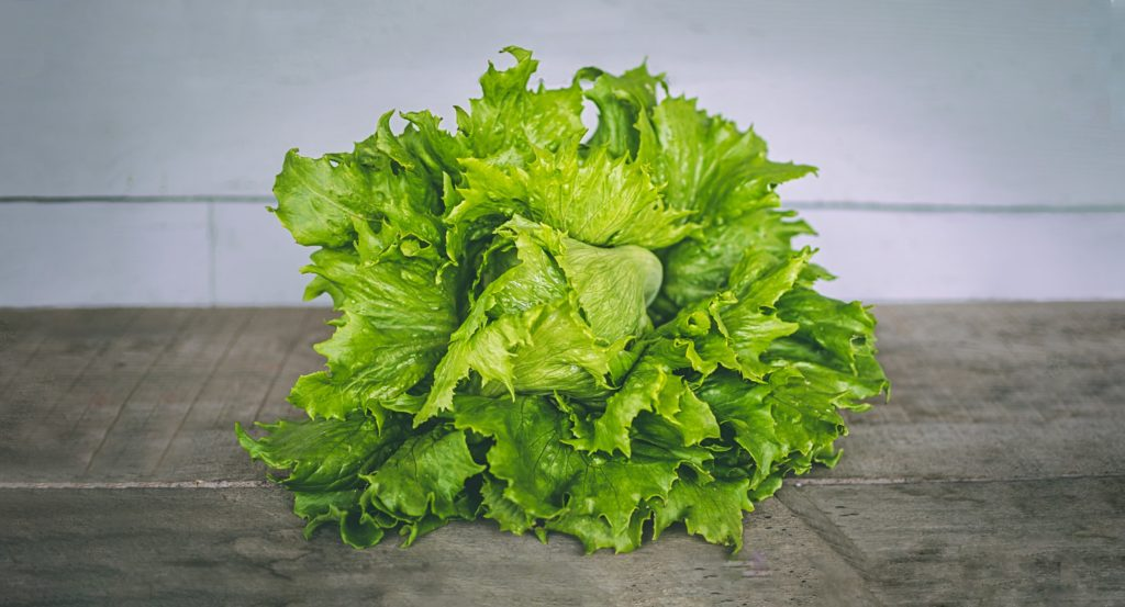 Nach dem Putzen sieht der TooGoodToGo Salat ganz passabel aus.