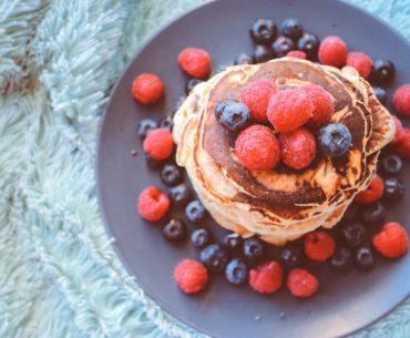 Pfannkuchen aus Sauerteig