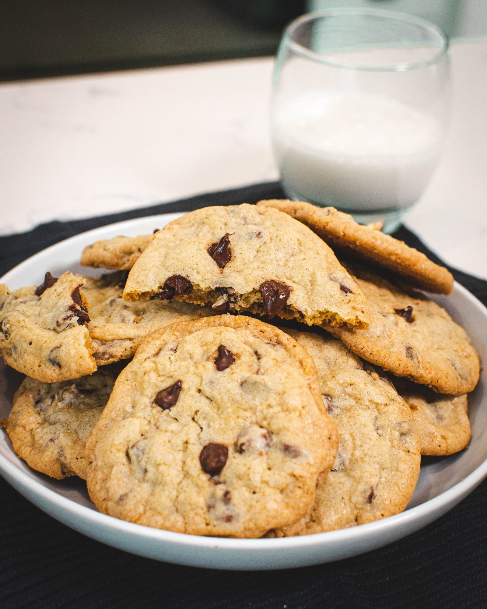 Chocolate Chip Cookie ohne Butter