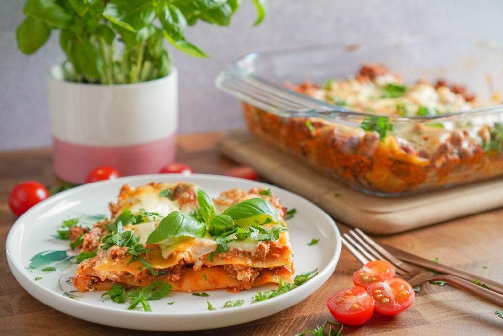 Lasagne kann man prima aufwärmen.