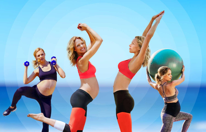 MOVE IT MAMA –  Per App fit durch die Schwangerschaft